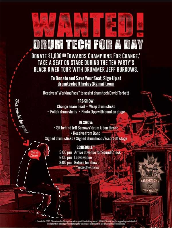 Drum Tech For A Day