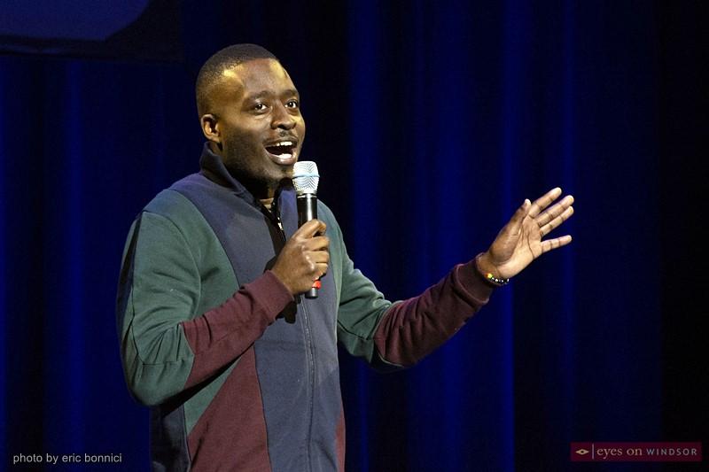 Comedian Kerby Darius
