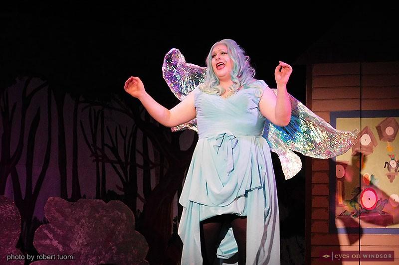 Chris Fazekas cast as Turquoise Fairy in Korda's Pinocchio