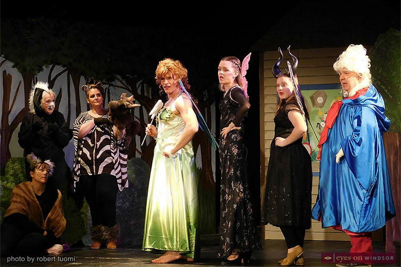 Woodland creatures and fairies in Pinocchio No Strings Attached by Korda Artistic Productions