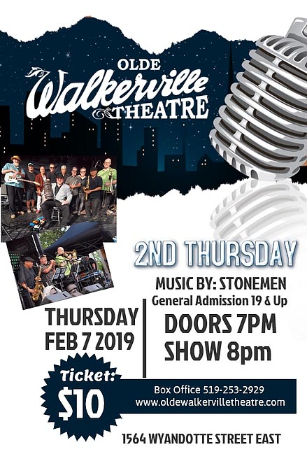 Live Local and Unsigned at the Olde Walkerville Theatre Poster