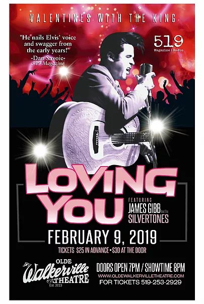 Loving You Valentines With The King Elvis Tribute Concert