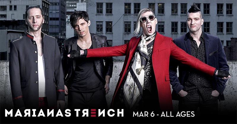 Marianas Trench Caesars Windsor Poster