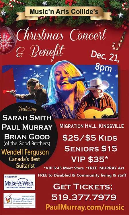 Music N Arts Collide Encore Concert in Kingsville Poster