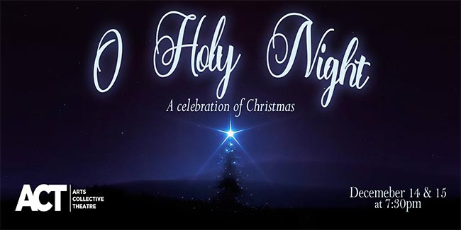 ACT Windsor O Holy Night A Celebration of Christmas Poster
