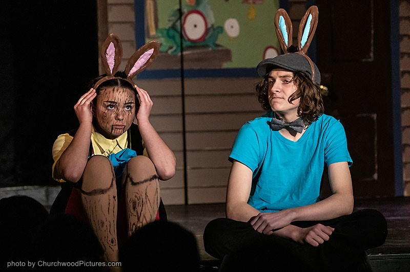 Gina Marshall as Pinocchio and Cavelle Doucet-Lefebvre Alfalfa.