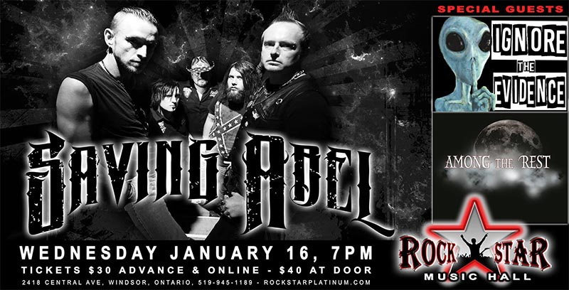 Saving Abel Rockstar Windsor Poster