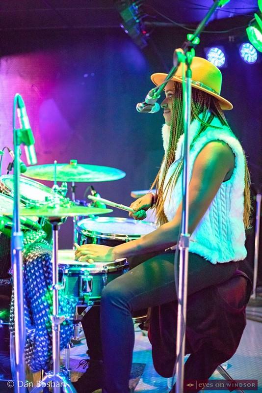Southern Avenue drummer, Tikyra Jackson.