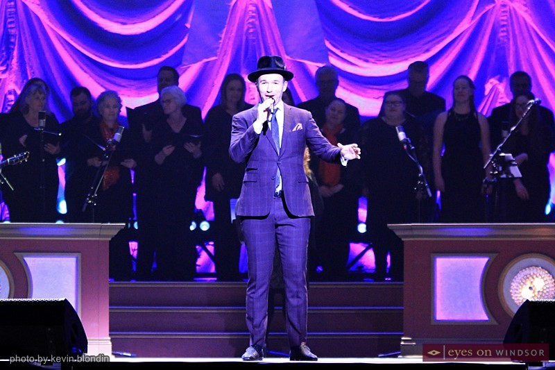 Victor Micallef of The Tenors