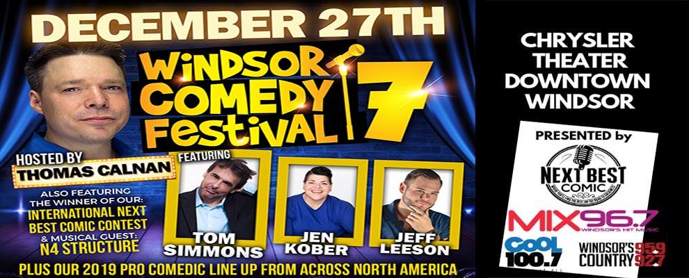 Windsor Comedy Festival Banner