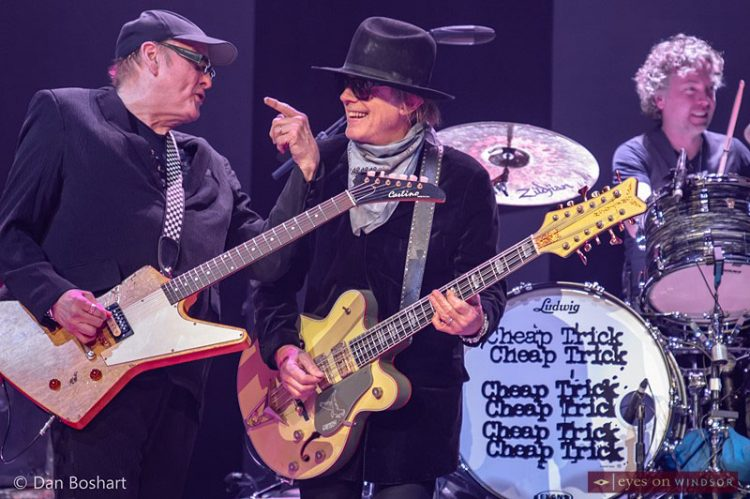 Cheap Trick Made It A Family Affair When They Rocked Caesars Windsor