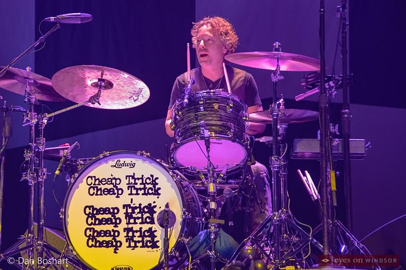 Cheap Trick drummer Daxx Nielsen