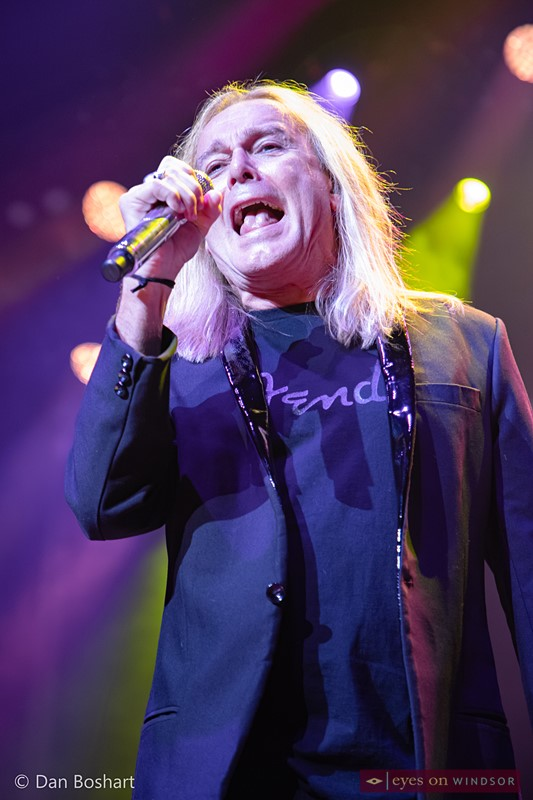 Cheap Trick lead vocalist Robin Zander