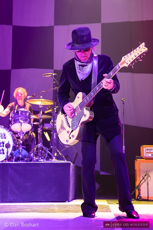 Cheap Trick bassist Tom Petersson