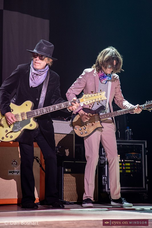 Cheap Trick bassist Tom Petersson and guitarist Robin Taylor Zander