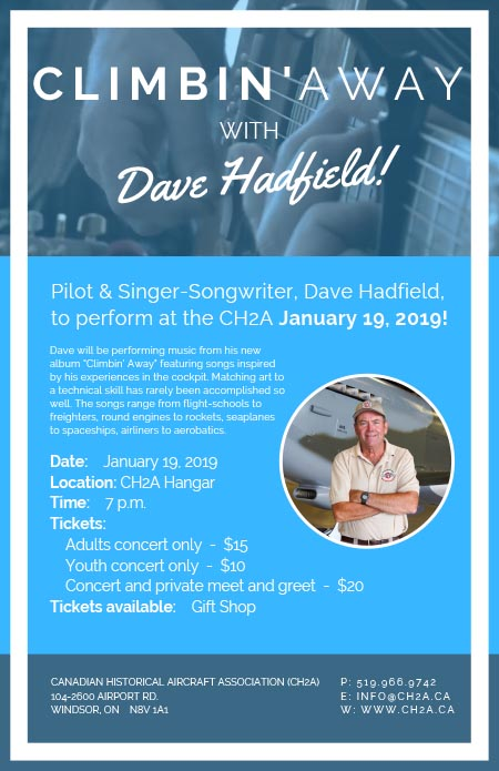 Dave Hadfield in Concert Poster