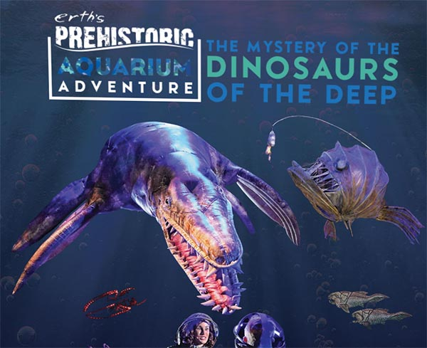 Erth\s Prehistoric Aquarium Adventure Windsor Show