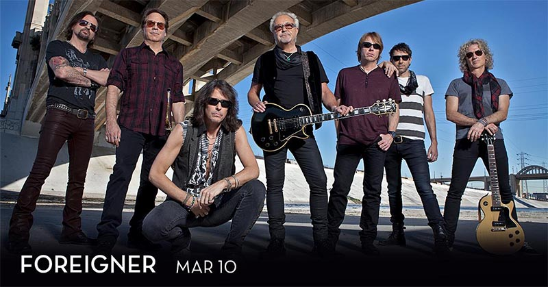 Foreigner Live at Caesars Windsor
