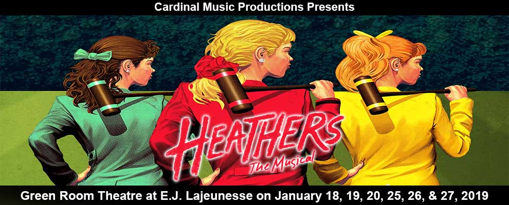 Heathers The Musical by Cardinal Music Productions Slider