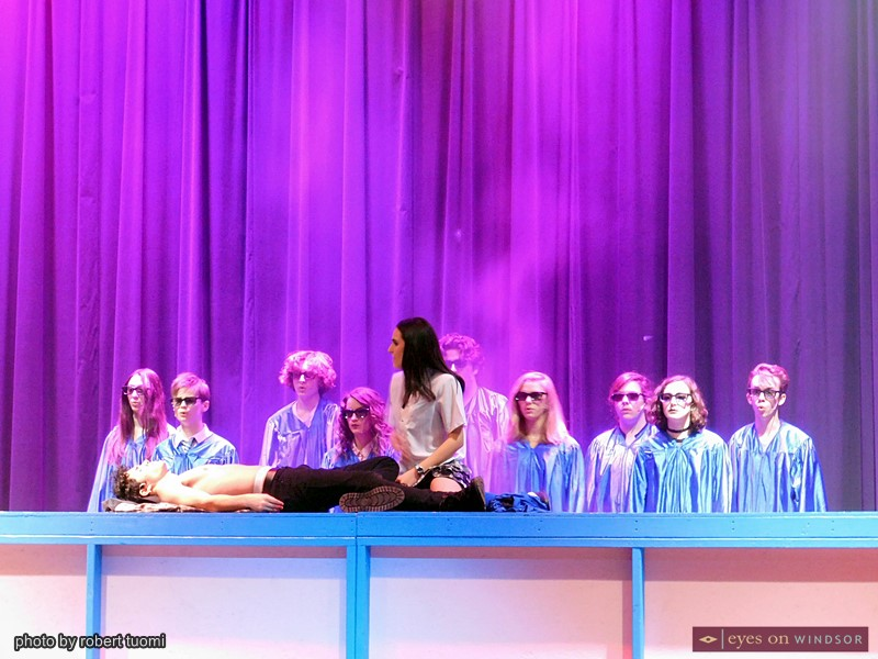 A scene from Heathers The Musical by Cardinal Music Productions