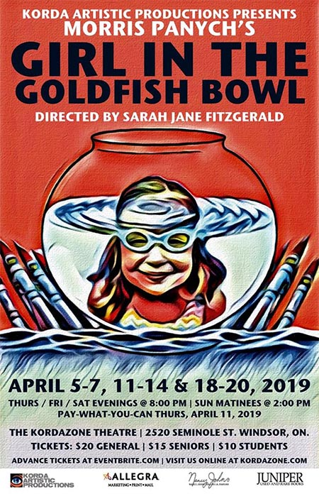 Girl In The Goldfish Bowl at Kordazone Theatre