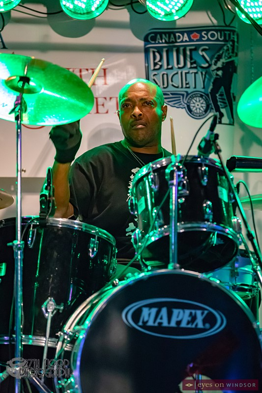 Steven McCray on drums