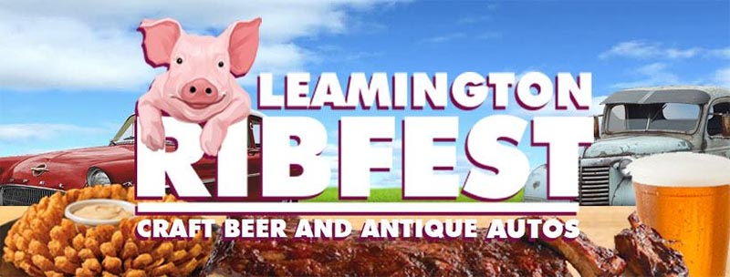 Leamington Ribfest Logo