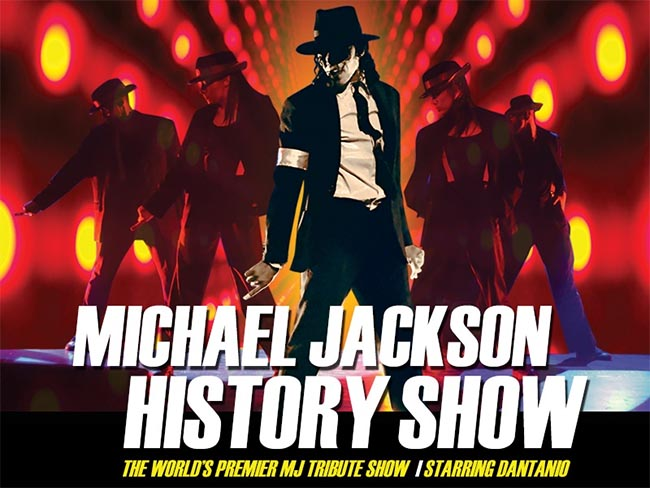 Michael Jackson History Show Windsor Poster