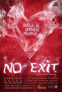 No Exit by Post Productions Windsor Poster