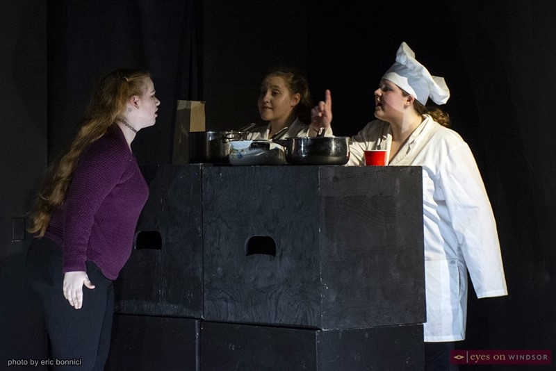 A scene from Revolution Youth Theatre's Annual Variety Show