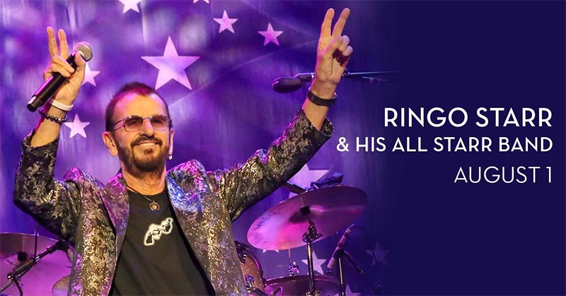 Ringo Starr To Perform Live at Caesars Windsor