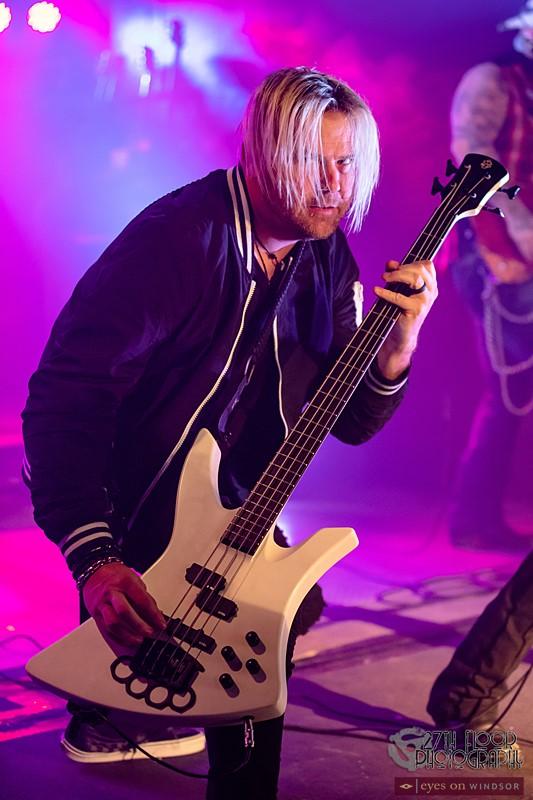 Bassist Scott Wilson of Saving Abel