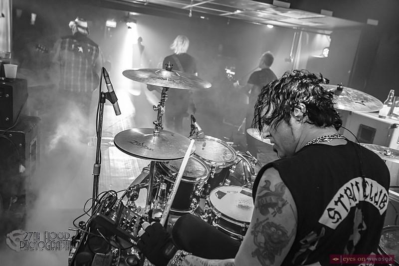 Saving Abel drummer Steven Pulley