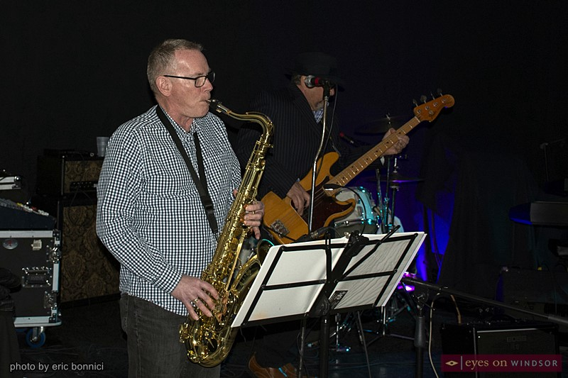 519 Band saxophonist Dave Belch