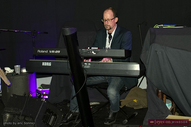 519 Band keyboardist Brian Jones