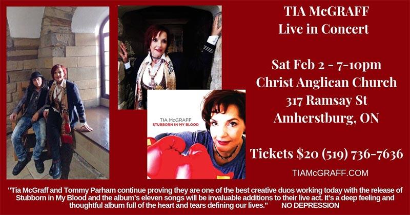 Tia McGraff Live in Concert