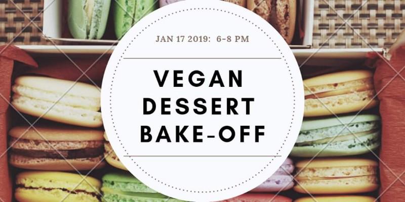 Vegan Dessert Bake Off Poster