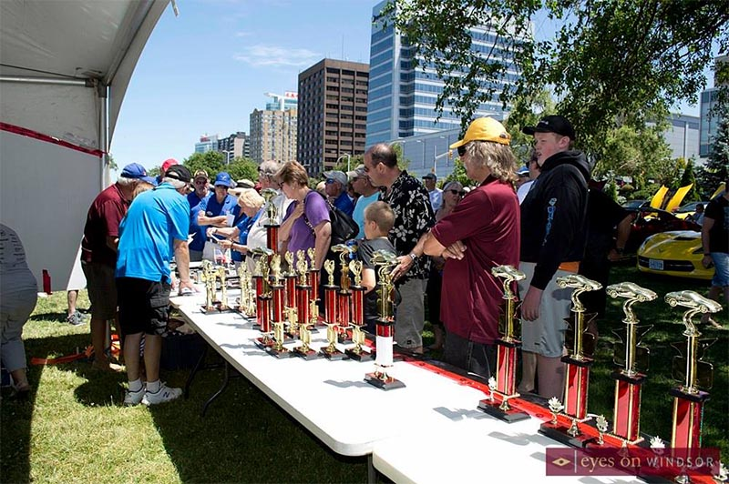 Waterfront Corvette Show Awards