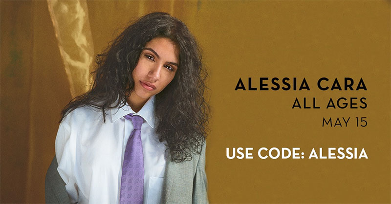 Alessia Cara To Perform live at Caesars Windsor
