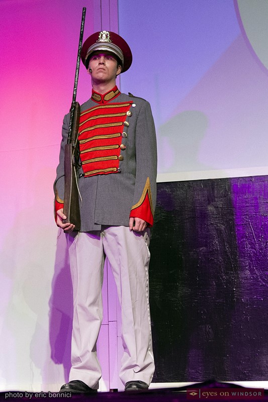 Ashton Curtis in Walkerville High School's production of Chitty Chitty Bang Bang