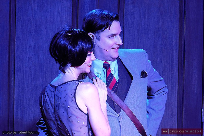 Heather Hausman cast as Sally Bowles and Martin Ouellette cast as Cliff Bradshaw in Korda's Cabaret