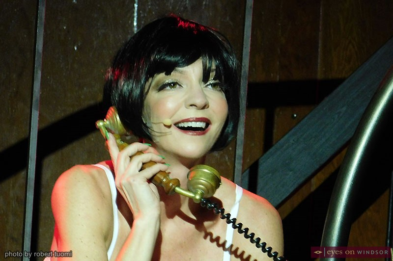 Heather Hausman's character Sally Bowles in Cabaret