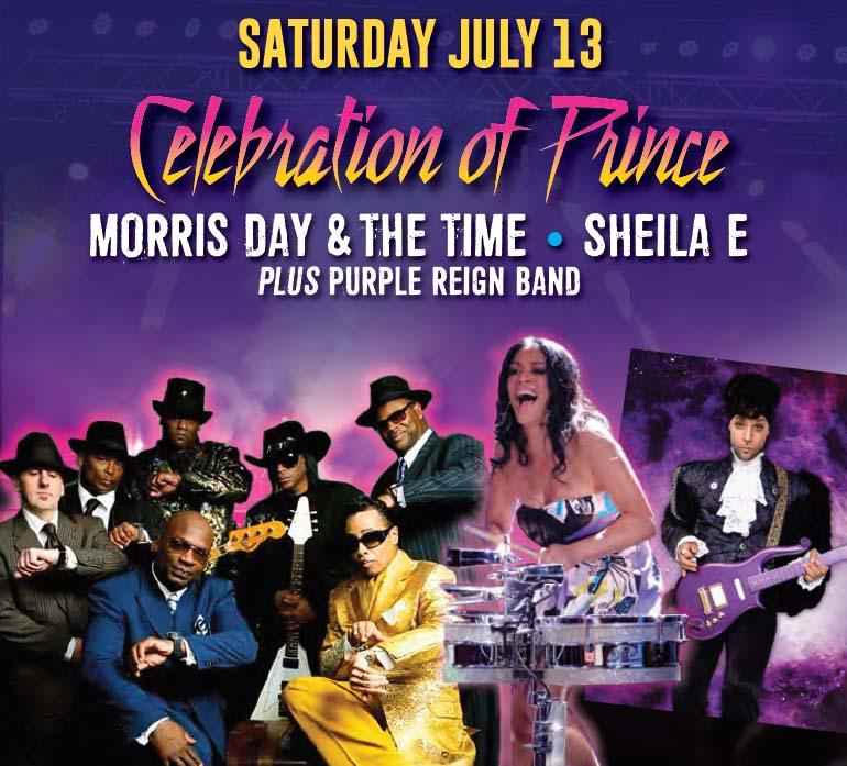 A Celebration of Prince Poster at Bluesfest Windsor