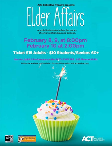 ACT Windsor Presents Elder Affairs Poster