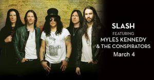 Slash featuring Myles Kennedy & The Conspirators Caesars Windsor Poster