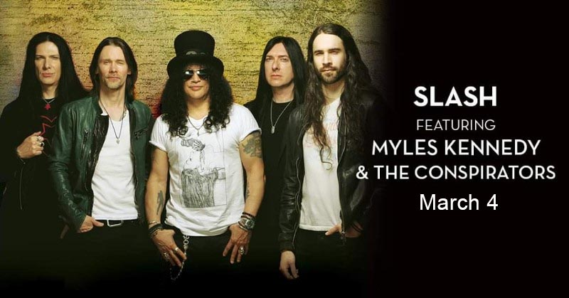 Slash featuring Myles Kennedy & The Conspirators Caesars Windsor Poster