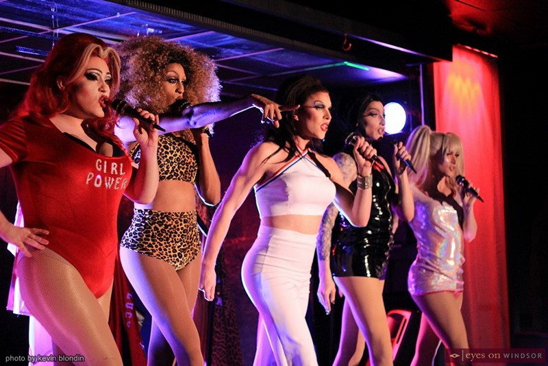 Spice Queens performing in Windsor, ON.