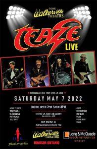 Teaze Live in Concert Poster