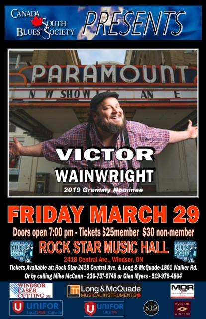 Victor Wainwright Windsor Poster