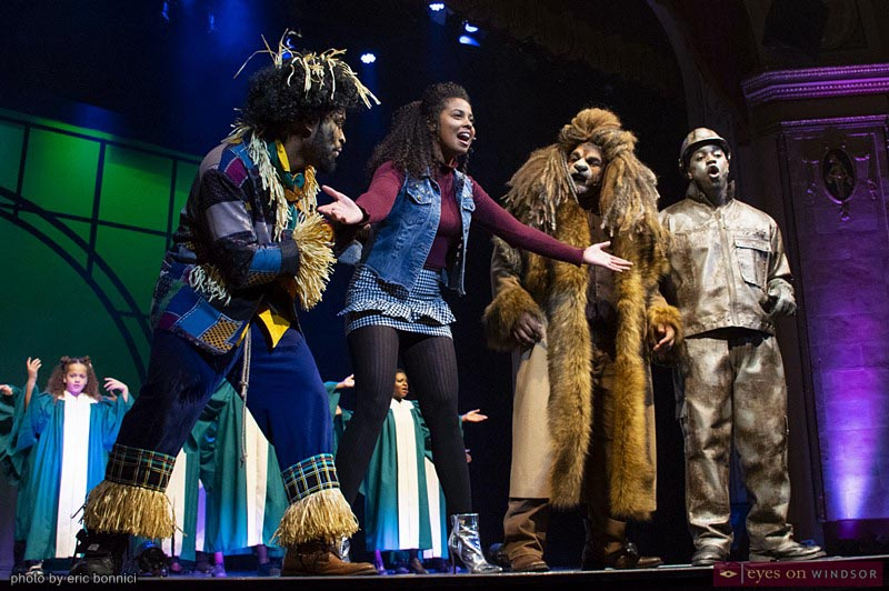 Main Characters in ACT Windsor's The Wiz